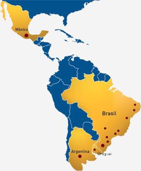 mapa de clientes Insoft4